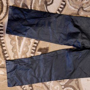 Bagatelle Black Leather Women's Pants Size 16